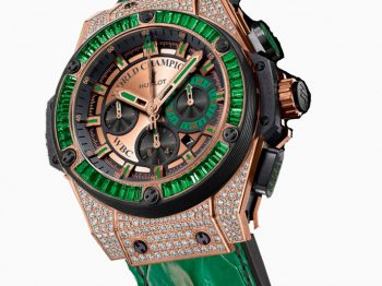 Floyd Mayweather partners with Hublot in Las Vegas for the boxing fight of the century
