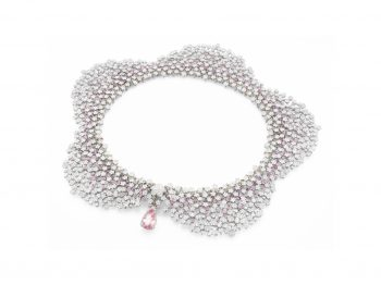 Milefiori Necklace by Pasquale Bruni – a lace of diamonds made with perfection