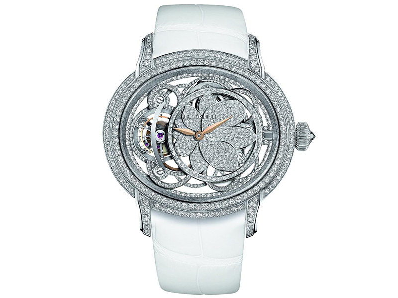 1- Audemars Piguet Millenary Flower Diamond