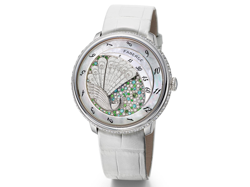 Faberge Lady Compliquée Peacock GPHG2015 Lady High Mechanical Watch Prize