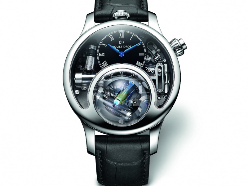 Jaquet Droz The Charming Bird GPHG2015 Mechanical Exception Watch Prize