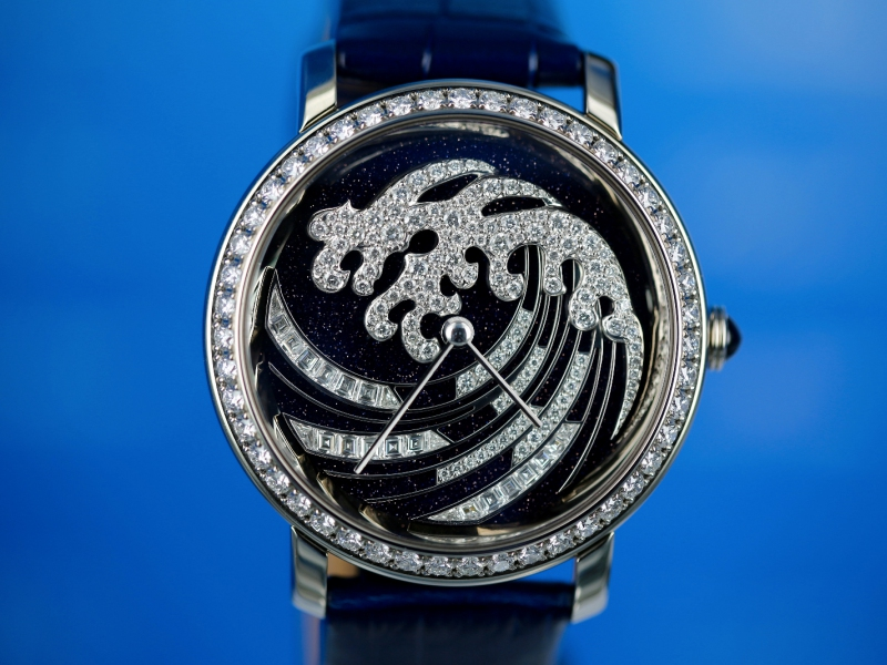 Epure d'Art, Vague de Lumière by Boucheron Only Watch 2015 Unique Piece - Photo by Watchonista