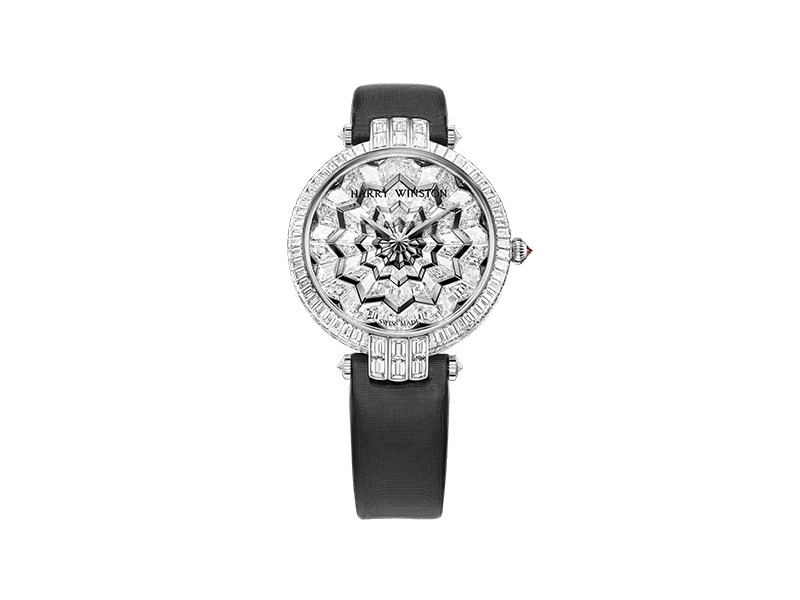 Harry Winston Premier Hypnotik set with invisible diamond setting