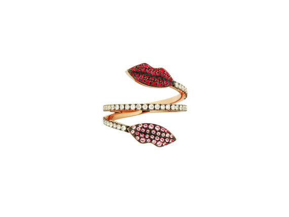 Delfina Delettrez Double lips marry me ring