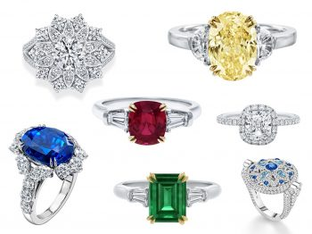 Why are Harry Winston's engagement rings legendary?