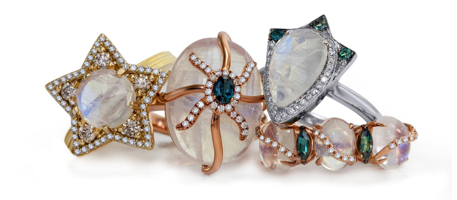 Laura Medine jewelry brand rings