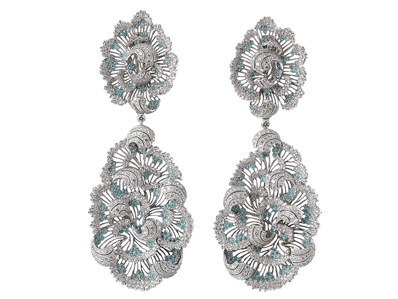 Buccellati Opera collection earrings