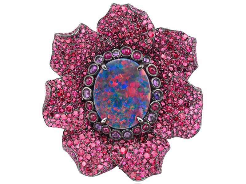 Chopard unveils Fleurs d'Opale pink diamonds