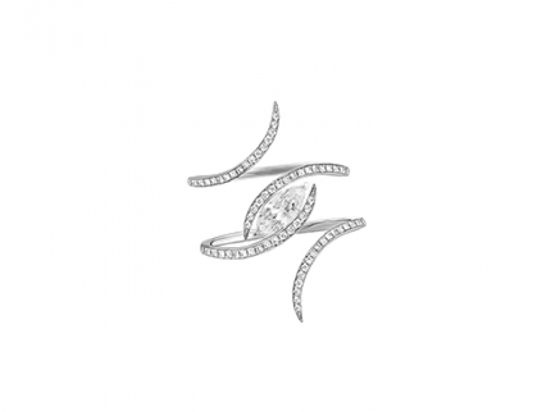 2-Christina Debs: The Diamond Tattoo Available in three types of gold, the central stone mounted as a marquise diamond within a delicate ring design is sliding through your finger that you never want to take it off... eternally... like a tattoo.