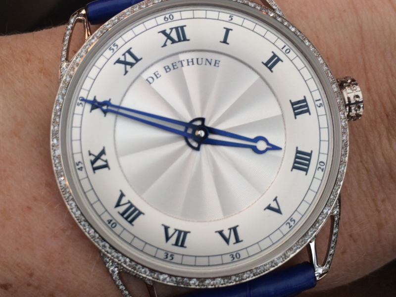 De Bethune DB25 Snow-White watch