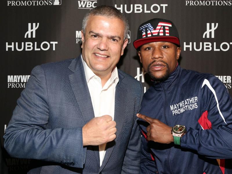 boxer Floyd Mayweather Hublot