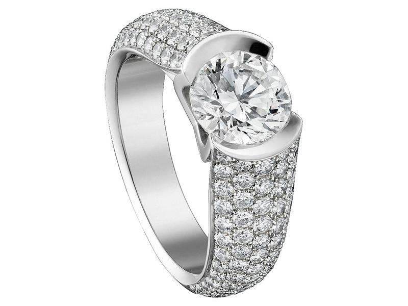 Cartier Cartier engagement ring