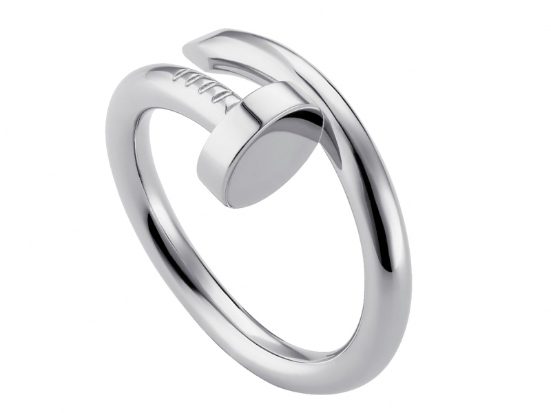Cartier Juste un Clou ring mounted on white gold