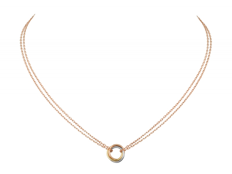 Cartier Trinity de Cartier necklace on rose, yellow and white gold