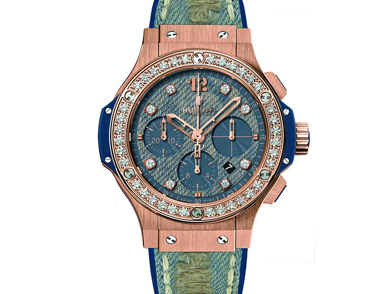 HUBLOT BIG BANG JEANS GOLD