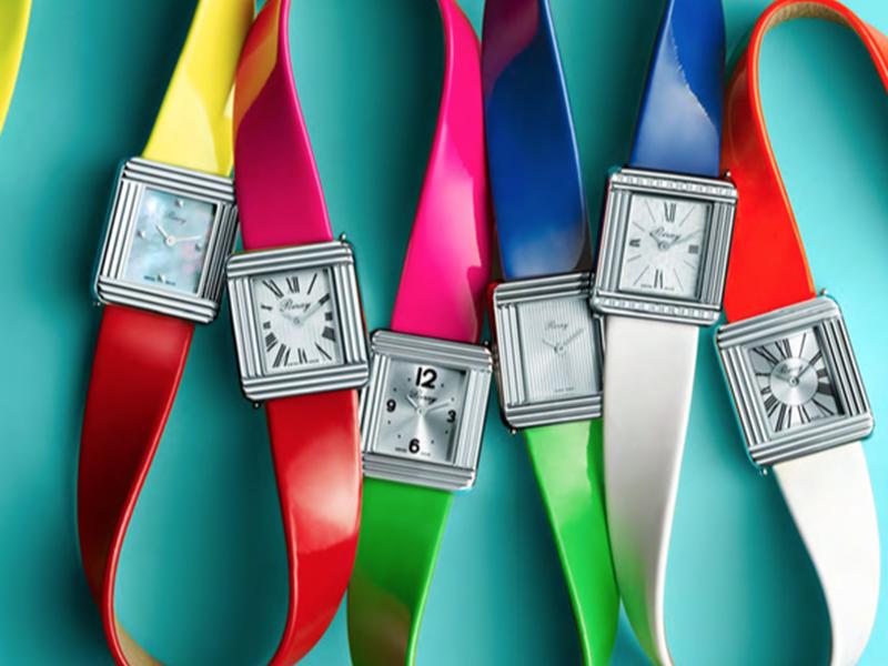 6 Poiray watches interchangeable bracelets