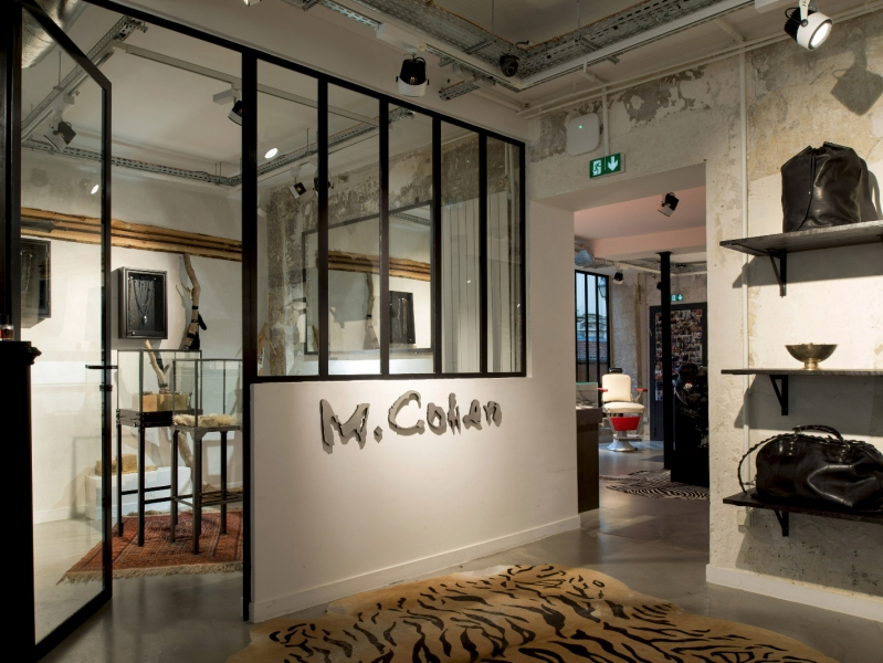 M.Cohen store jewelry Paris