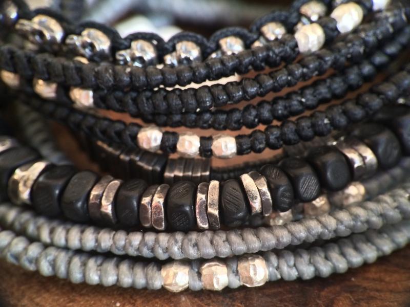 M.Cohen silver bracelets