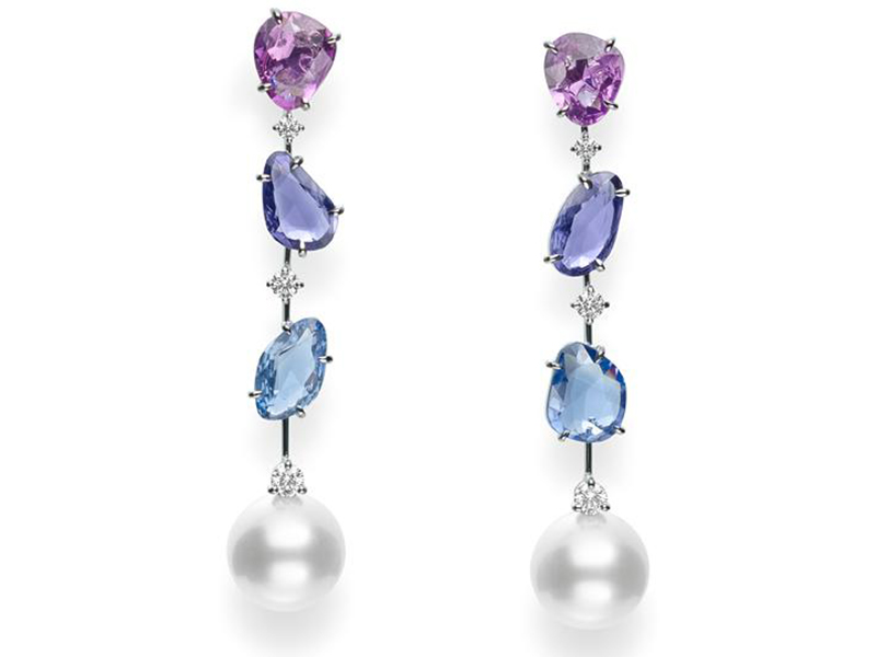 Mikimoto Sunset Collection Earrings