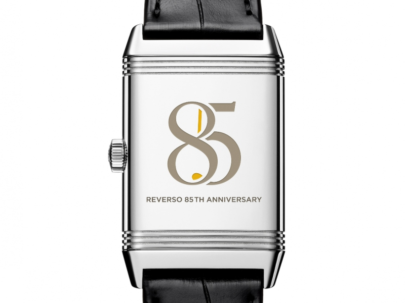 Reverso Classic Medium Duetto Jaeger-Lecoultre watch diamonds 85th reverso anniversary