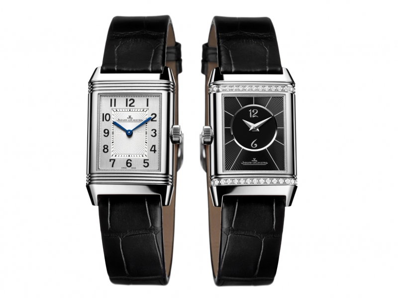 Reverso Classic Medium Duetto Jaeger-Lecoultre watch diamonds