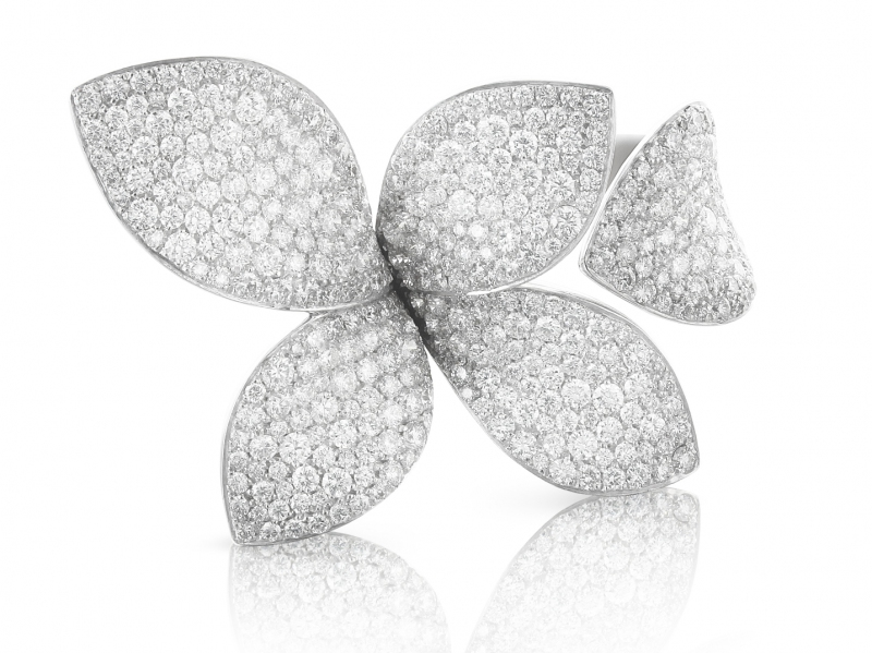 Pasquale Bruni Giardini Segreti Collection - Diamond paved ring