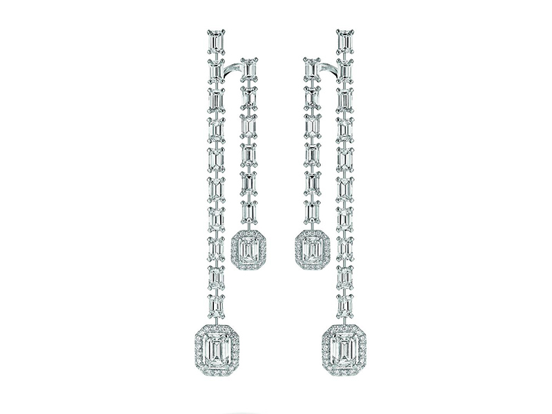 Messika Ritzy earrings white gold