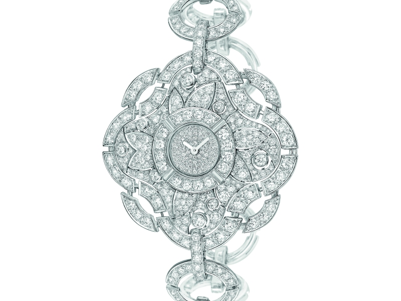 The Chanel Talismans collection, 2015 watch diamonds