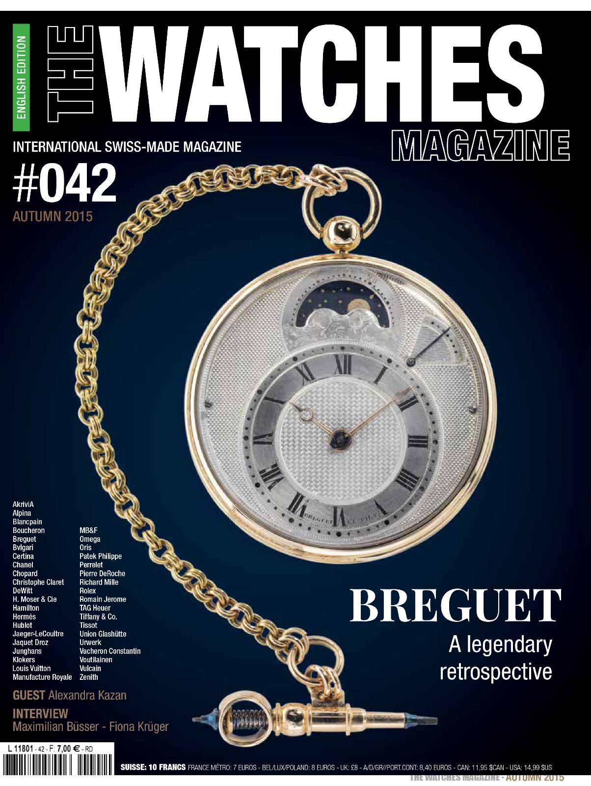 The Watches Magazine 42- When Haute Couture Meets Fine Watches