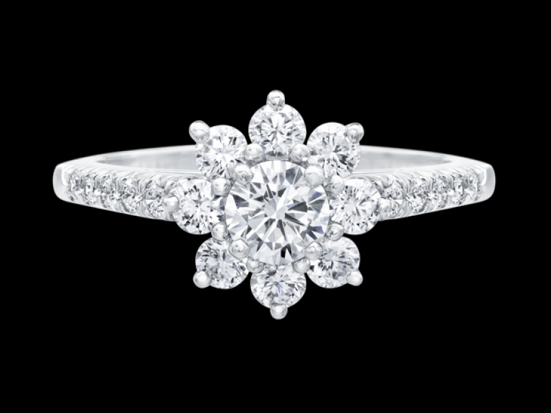 Sunflower by Harry Winston, Medium Diamond Ring