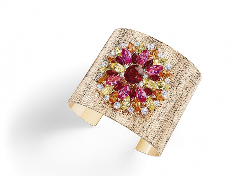 Piaget Secret and Light High Jewelry Cuff