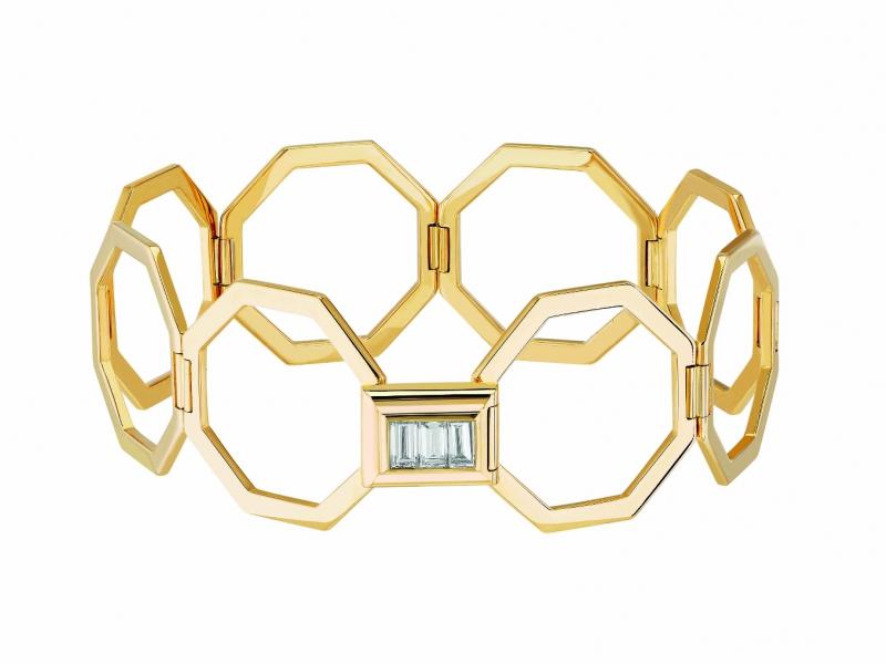 Poiray Bague Bracelet with diamonds ~18'900 Euros