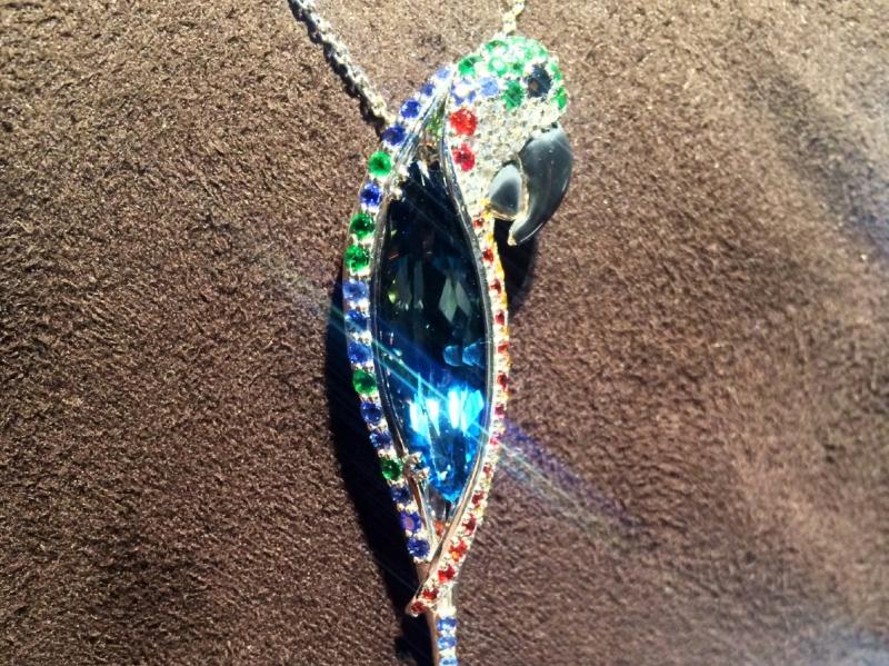 Van der Bauwede unveiled the Crazy Jungle pendant line.