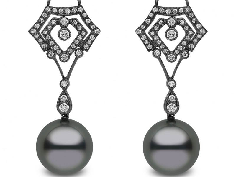 Yoko London mixed diamonds and pearls in modern designs