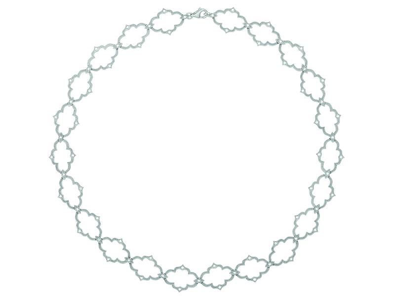 Stone Paris Moon River Necklace
