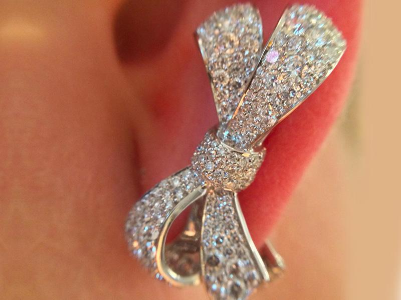 Garrard Bow earring