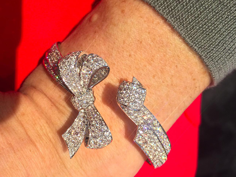 Garrard Bow bracelet