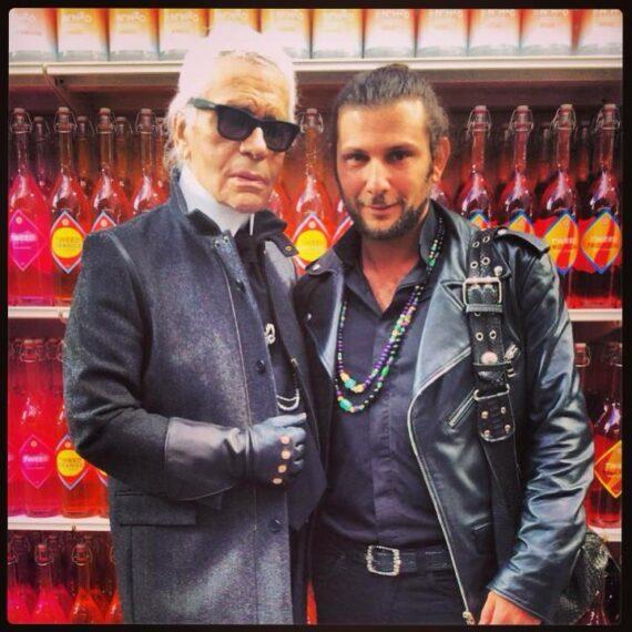Karl Lagerfeld Aaron Jah Stone