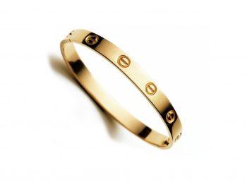 The Love Bracelet by Cartier