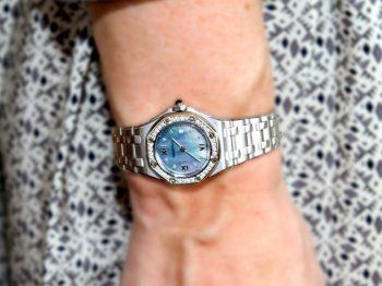 The iconic Royal Oak watch by Audemars Piguet