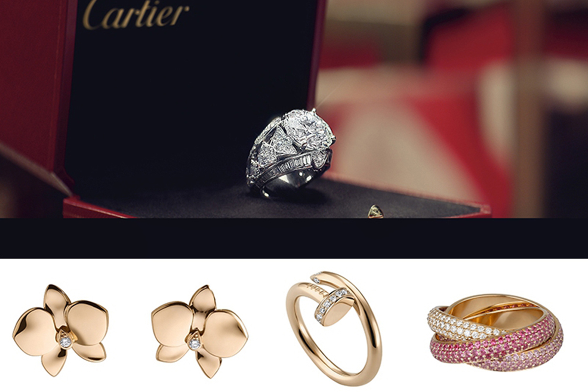 What makes Cartier the symbol of love?