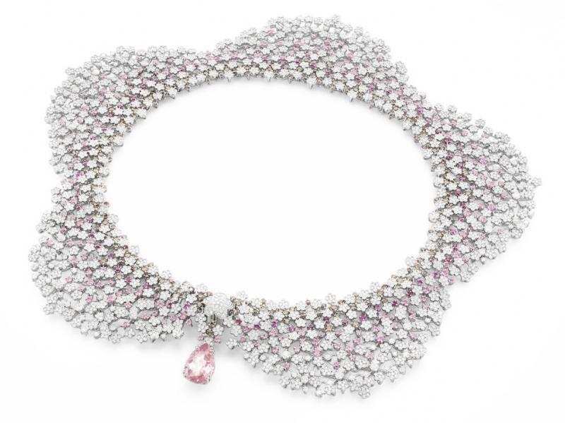 Milefiori Necklace by Pasquale Bruni diamonds