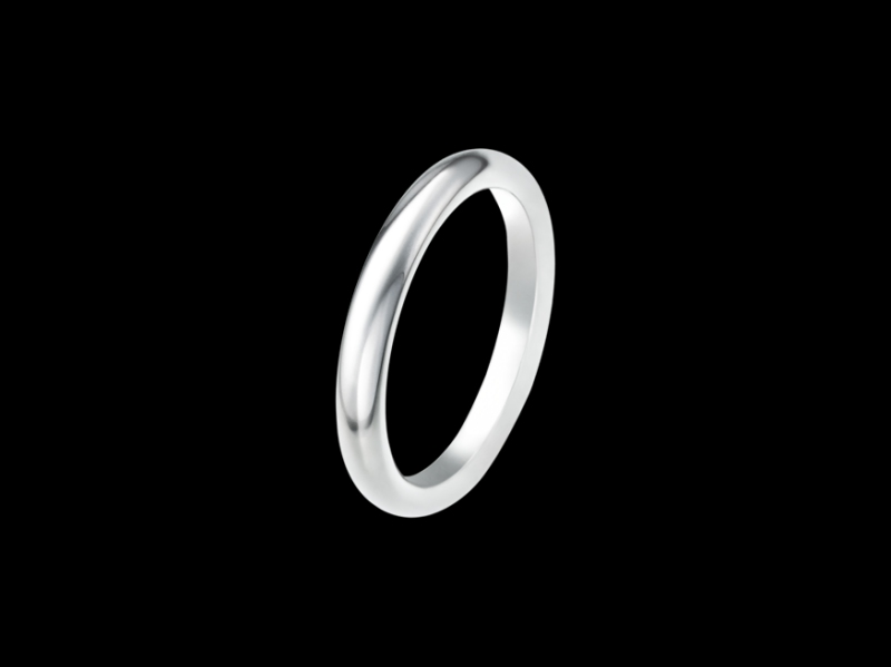 "Van Cleef and Arpels - Infinite Alliance Single and simple platinum wedding band named ""infini"" like eternty! (~ 1'600 Euros)"