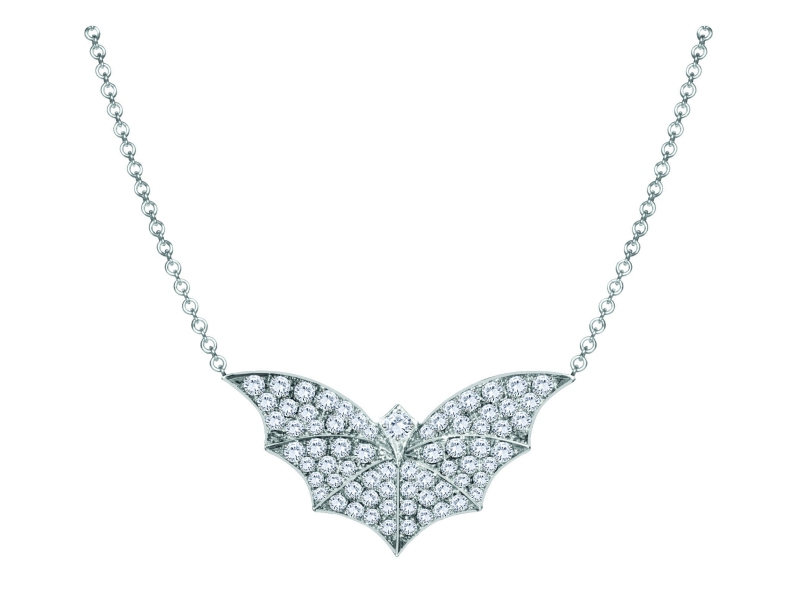 Van der Bauwede Twilight Collection - Diamond pendant set on white gold