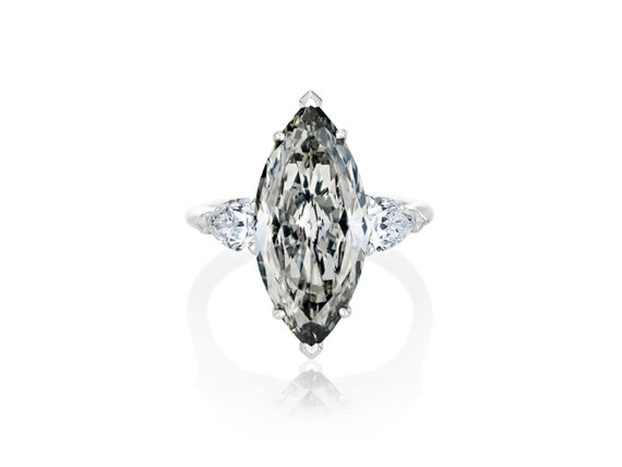 De Beers Fancy Grey Master Diamond