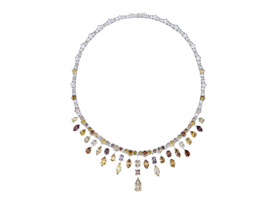 De Beers Sunset Frost necklace