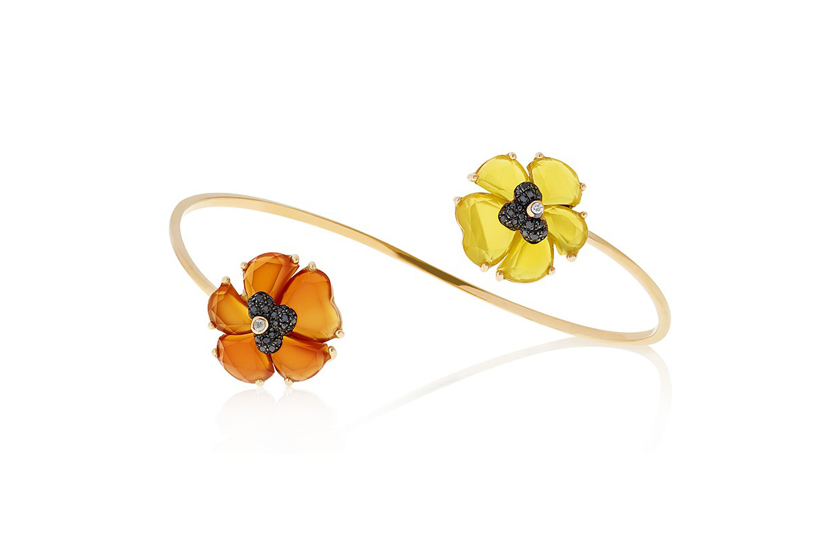 Flower bangle Christina Debs