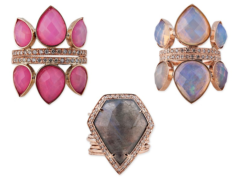 Jacquie Aiche rings jewelry rose gold