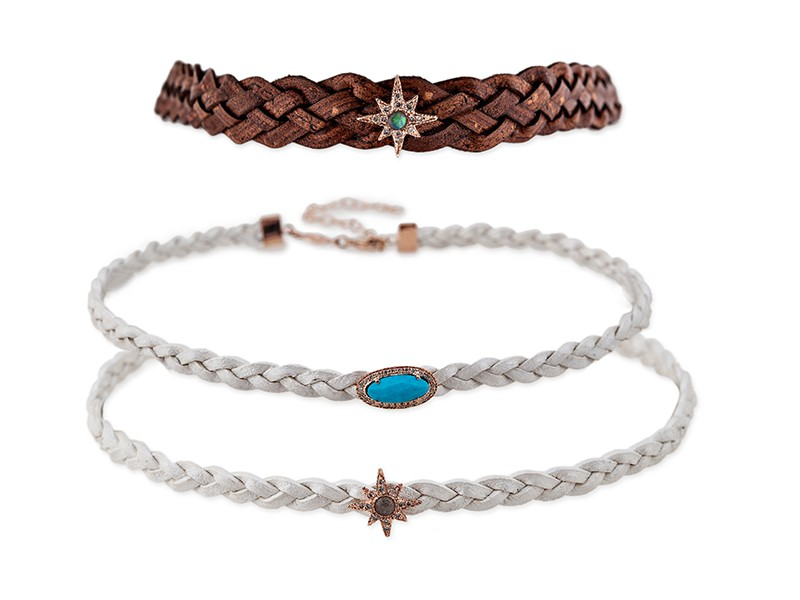 Jacquie aiche male collection bracelets