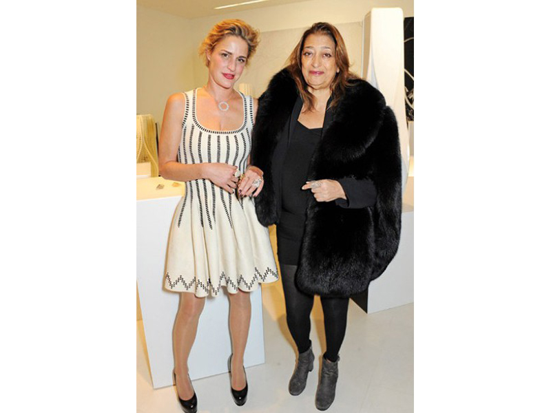 Arlène Bonnant & Zaha Hadid